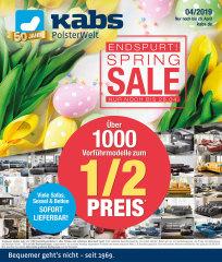 Spring-Sale Special