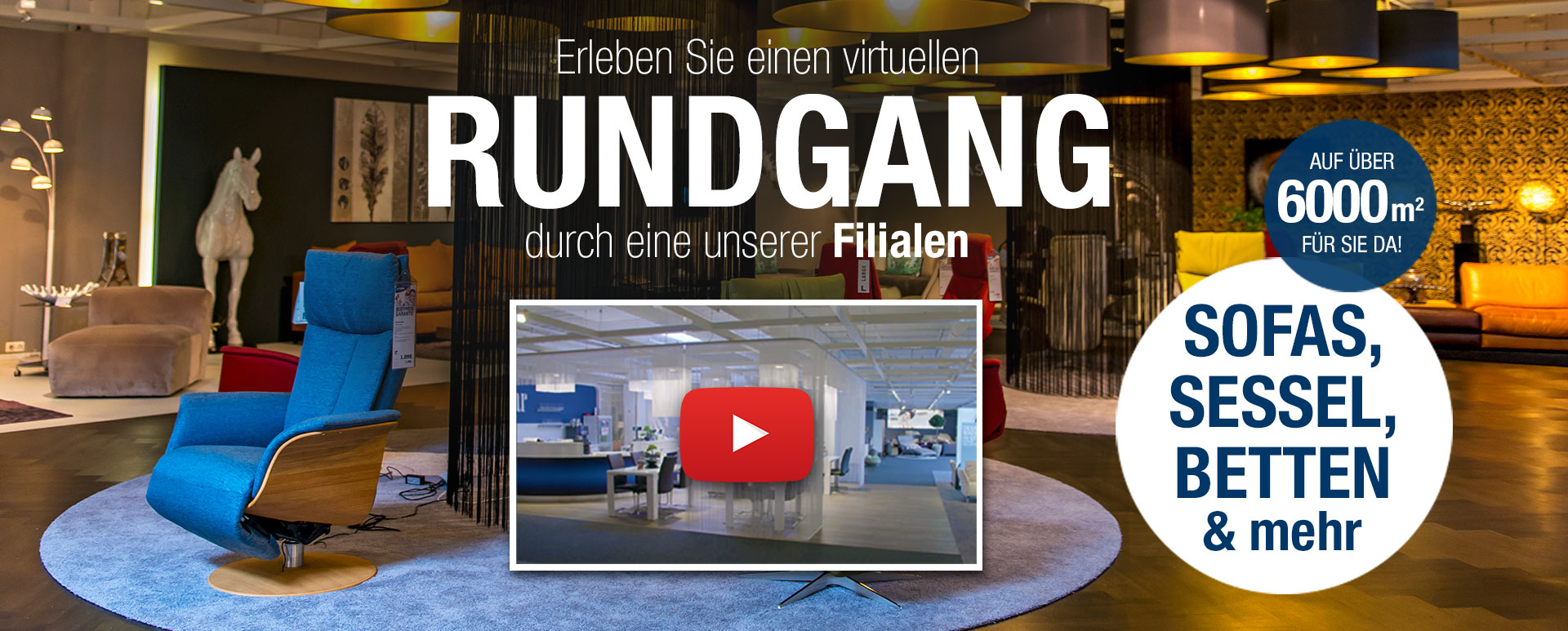 rundgang filiale bremen video kabs polsterwelt. Black Bedroom Furniture Sets. Home Design Ideas