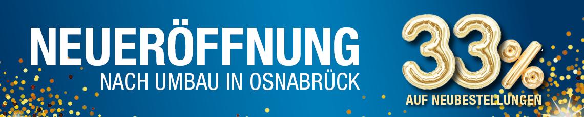 Aktion - Neueröffnung Osnabrück