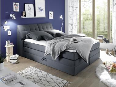 Boxspringbett Barilo wahlweise mit Topper